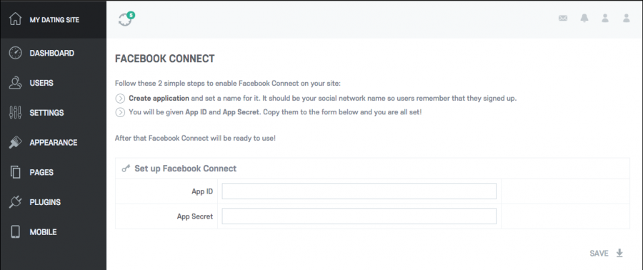 How to manage the Facebook connect plugin? [Oxwall Software